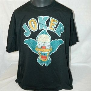 The Simpsons Krusty Clown Joker 2XL Mens T Shirt